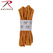 "Rothco 72"" Tan Nylon Work Boot Laces"