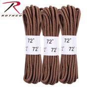"Rothco 72"" Boot Laces - 3 Pack"