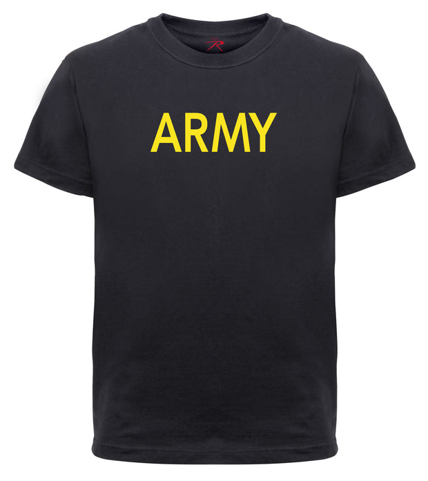 Rothco Kids Army Physical Training T-Shirt