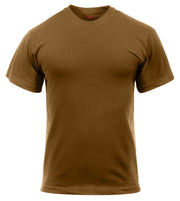 Rothco Solid Color Cotton / Polyester Blend Military T-Shirt