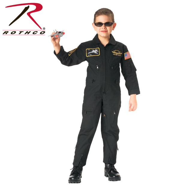 Rothco Kid's Flight Coverall With Patches