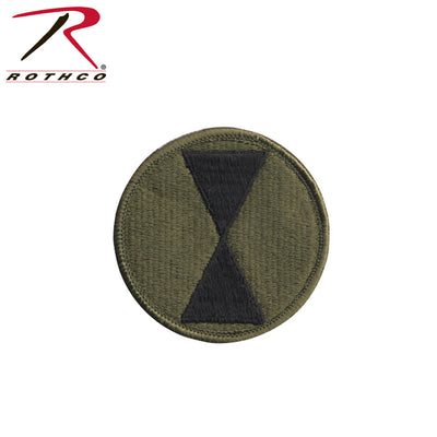Rothco 7th Infantry Division Patch