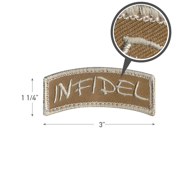 Rothco Infidel Shoulder Morale Patch