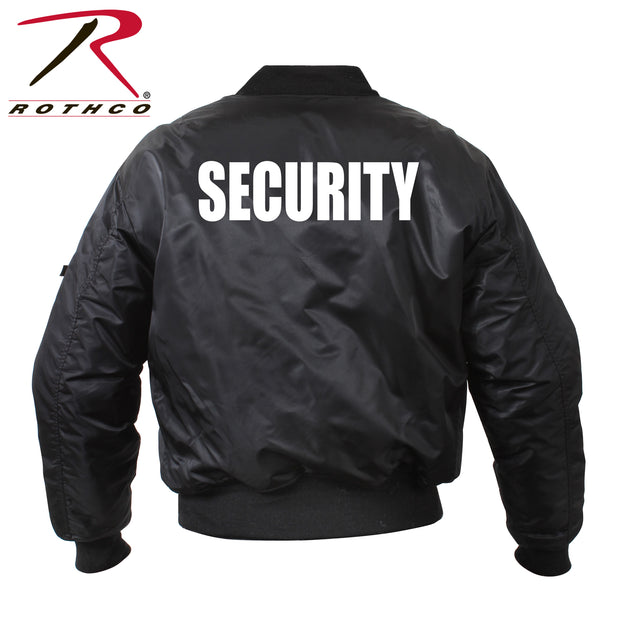Rothco MA-1 Flight Jacket With Security Print