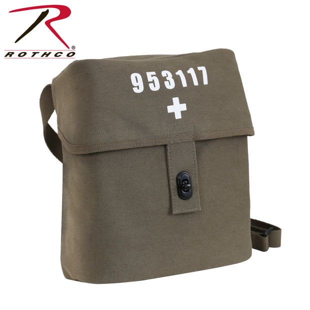Rothco Swiss Military Canvas Shoulder Bag