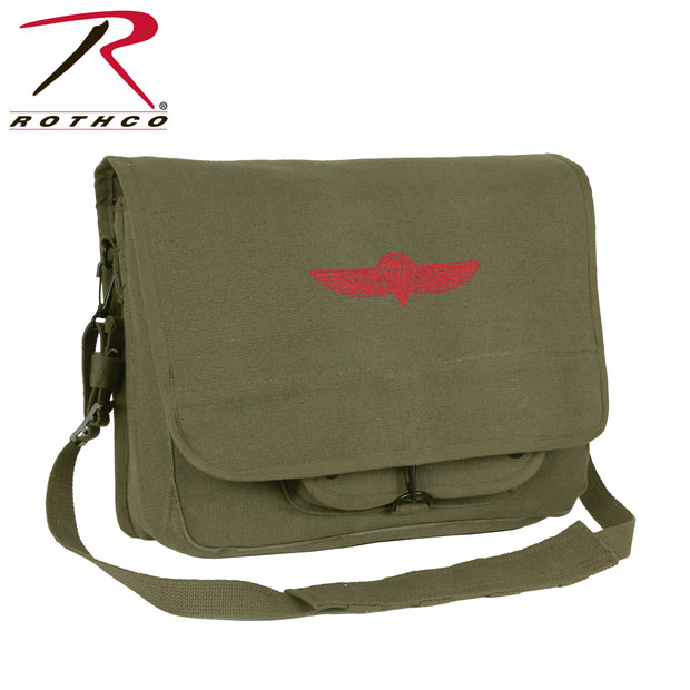 Rothco Canvas Israeli Paratrooper Bag