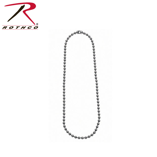 "Rothco 27"" Fashion Bead Chain"