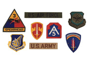 Rothco G.I. Military Assorted Military Patches