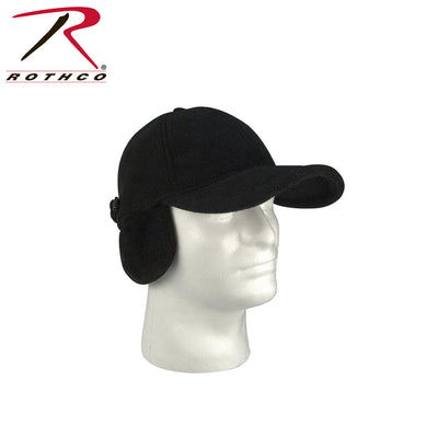 Rothco Fleece Low Profile Cap With Earflaps