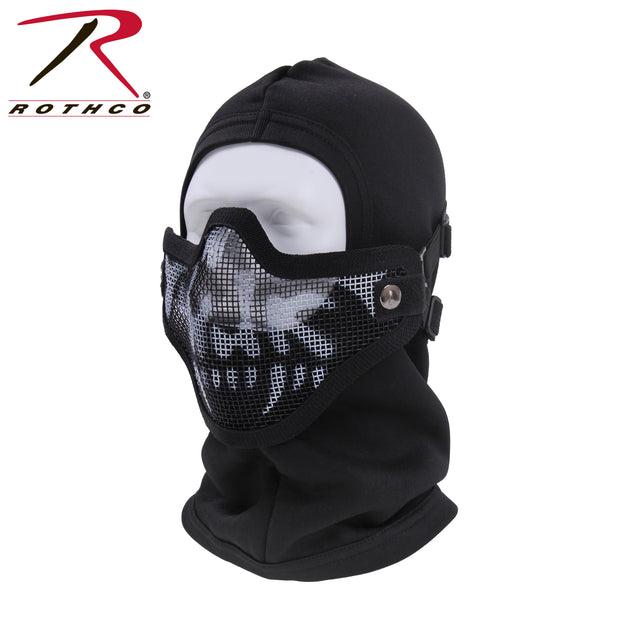 Steel Half Face Tactical Mask