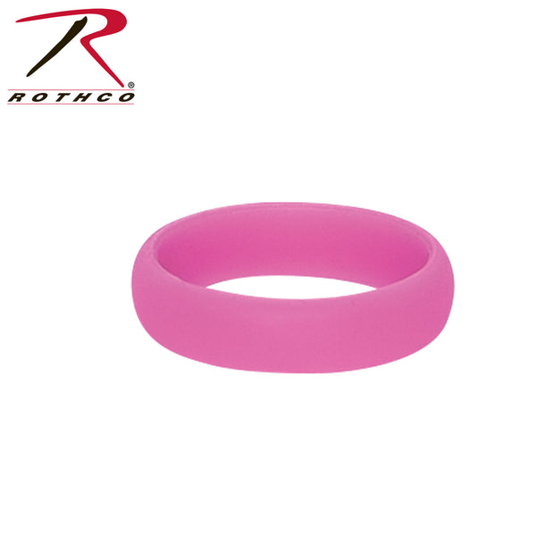 Rothco Pink Silicone Ring