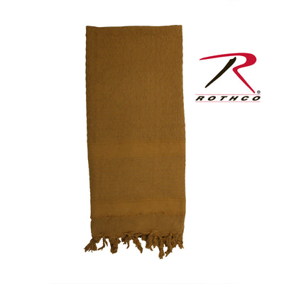 Rothco Solid Color Shemagh Tactical Desert Keffiyeh Scarf