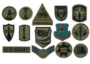 Rothco Subdued Military Assorted Military Patches