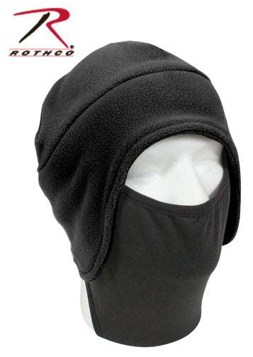 Rothco Convertible Fleece Cap With Poly Facemask