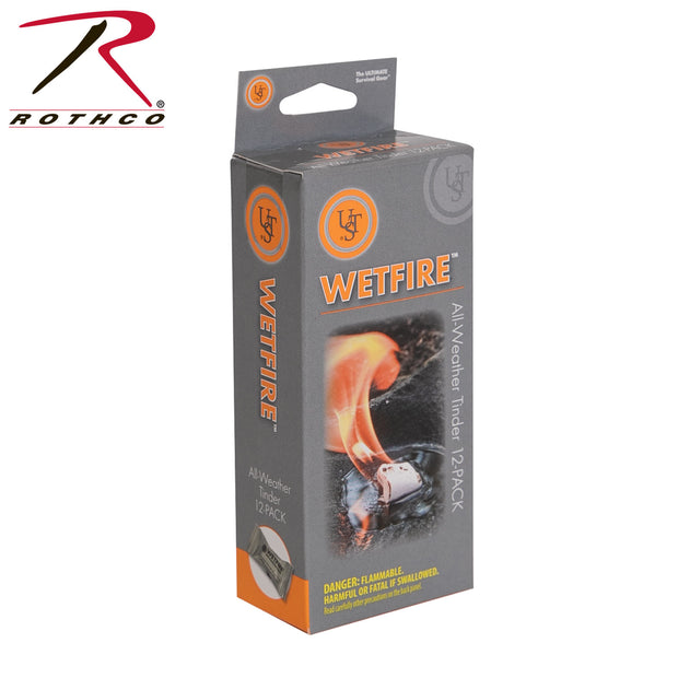 Wetfire Fire Starting Tinder - 12 Pack