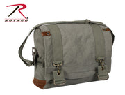 Rothco Vintage Canvas B-15 Pilot Messenger Bag
