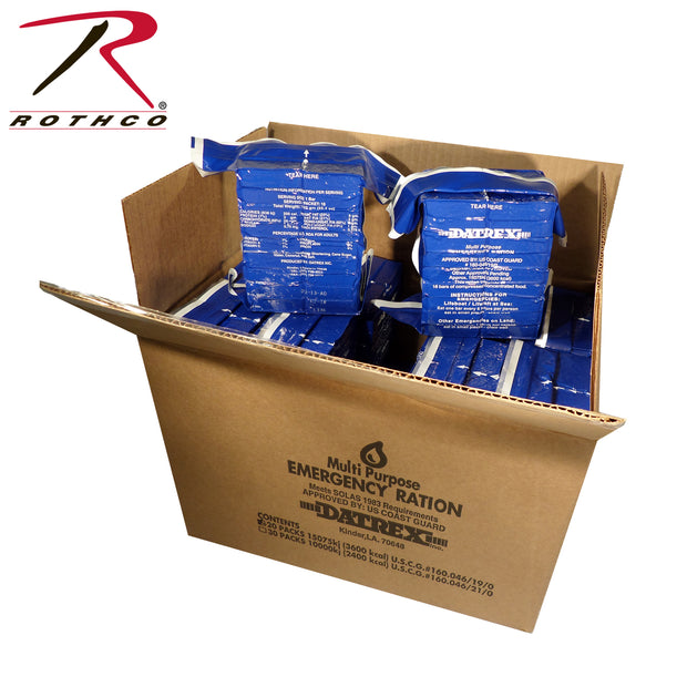 Datrex Blue 3600 Calorie Emergency Food Ration