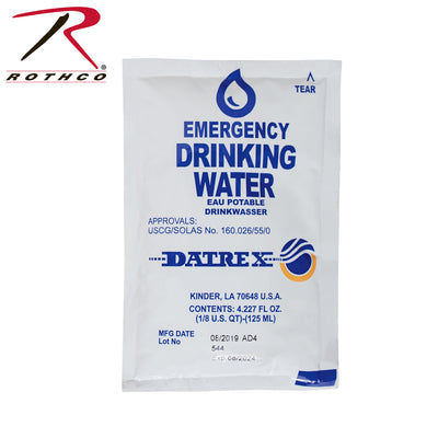 Datrex Emergency Water (64-case)