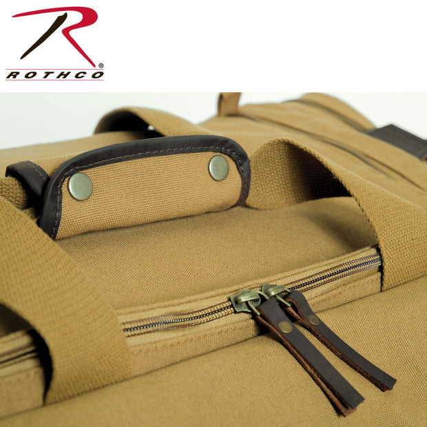 Rothco Canvas Long Weekend Bag