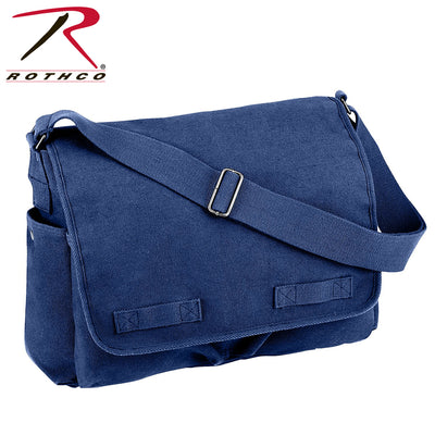 Rothco Vintage Washed Canvas Messenger Bag