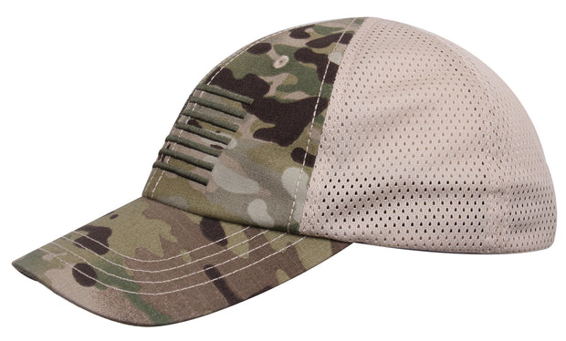 Rothco Tactical Mesh Back Cap With Embroidered US Flag
