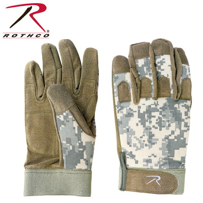 Rothco All Purpose Duty Glove - Off Color ACU Camo