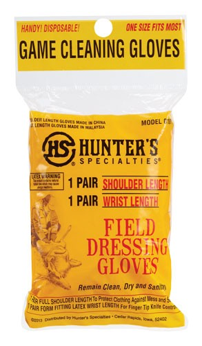 Hs Field Dressing Gloves - Shoulder&wrist Length 1pr Ea