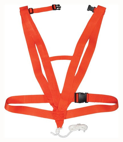 Hs Deer Drag Deluxe Body - Harness Style Safety Orange
