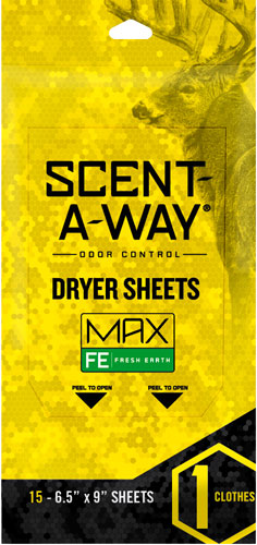 Hs Dryer Sheets Scent-a-way - Max Oderless 6.5