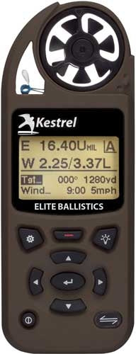 Kestrel 5700 Elite W-applied - Ballistics Fde