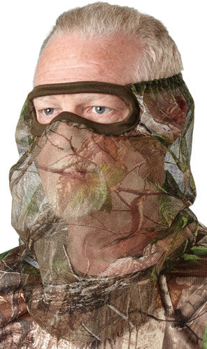 Hs Facemask 3-4 Mesh Realtree - Edge