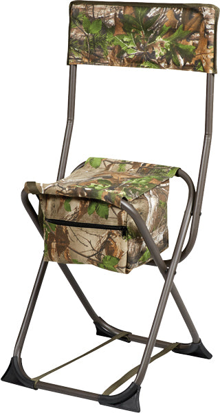 Hs Dove Stool Folding W-back - Realtree Edge