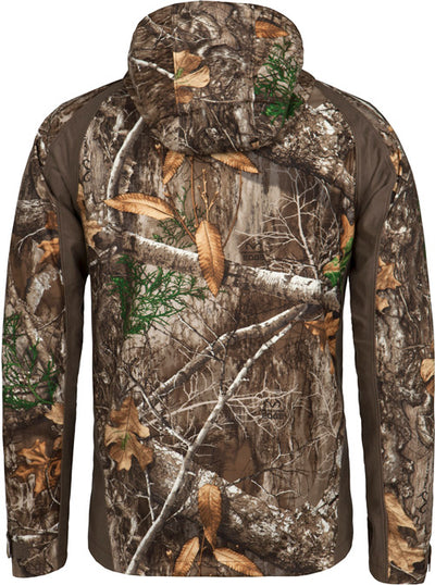Blocker Drencher Jacket W-hood - Waterproof Realtree Edge Large