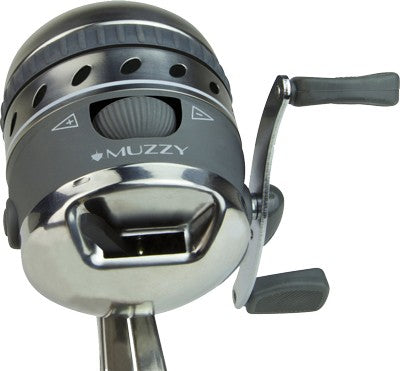 Muzzy Bowfishing Reel Xd Pro - Spin Style W-integrated Mount