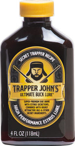 Wrc Deer Lure Trapper John's - Ultimate Buck Lure 4fl Oz