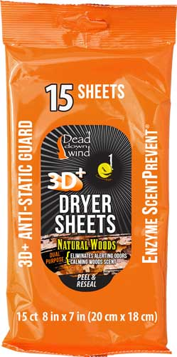 Ddw Dryer Sheets E1 3d+ - Natural Woods 15ct