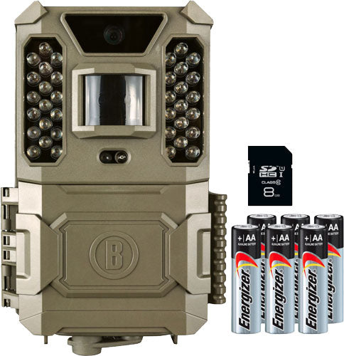 Bushnell Trail Cam Core Prime - 24mp Low Glo Sd Card-batteries