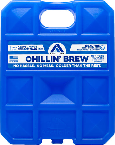 Arctic Ice Chillin Brew Xl - 5lb Reusable Refrige Temp