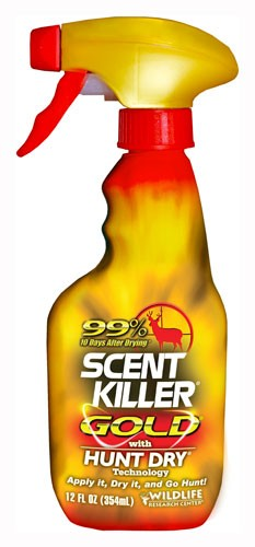 Wrc Scent Elimination Spray - Scent Killer Gold 12fl Ounces