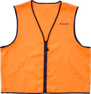 Allen Deluxe Hunting Vest - Orange Medium 2 Front Pockets