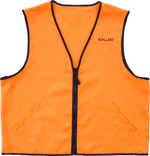 Allen Deluxe Hunting Vest - Orange Large 2 Front Pockets
