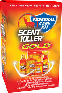 Wrc Personal Care Combo Kit - Scent Killer Gold