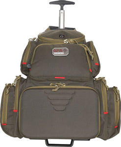 Gps Rolling Handgunner Range - Backpack Rifle Green-khaki