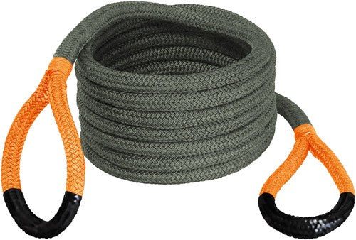 "Bubba Rope Renegade 3-4""x30' - Jeep Stretch Rope Orange Eyes"