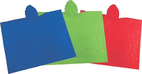 Coleman Emergency Poncho - Assorted Colors 1 Poncho