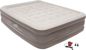 Coleman Supportrest Pillowstop - Plus Dh Queen W-120v Combo