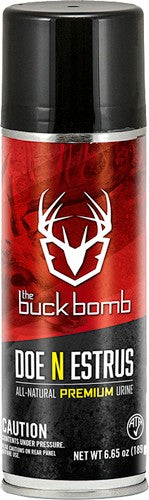 Buck Bomb Deer Lure Doe In - Estrus 6.65 Oz Aerosol