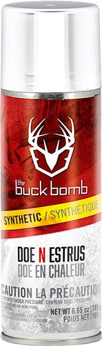 Buck Bomb Deer Lure Doe In - Estrus Synthetic 6.65 Oz Aeros