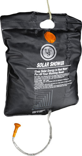 Ust Solar Shower Holds 5 - Gallons Black W-built In Hndle