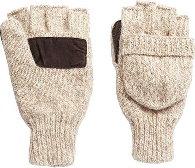 Hot Shot Basics Pop-top Mitten - Rag Wool 40gr Insul Oatmeal Os